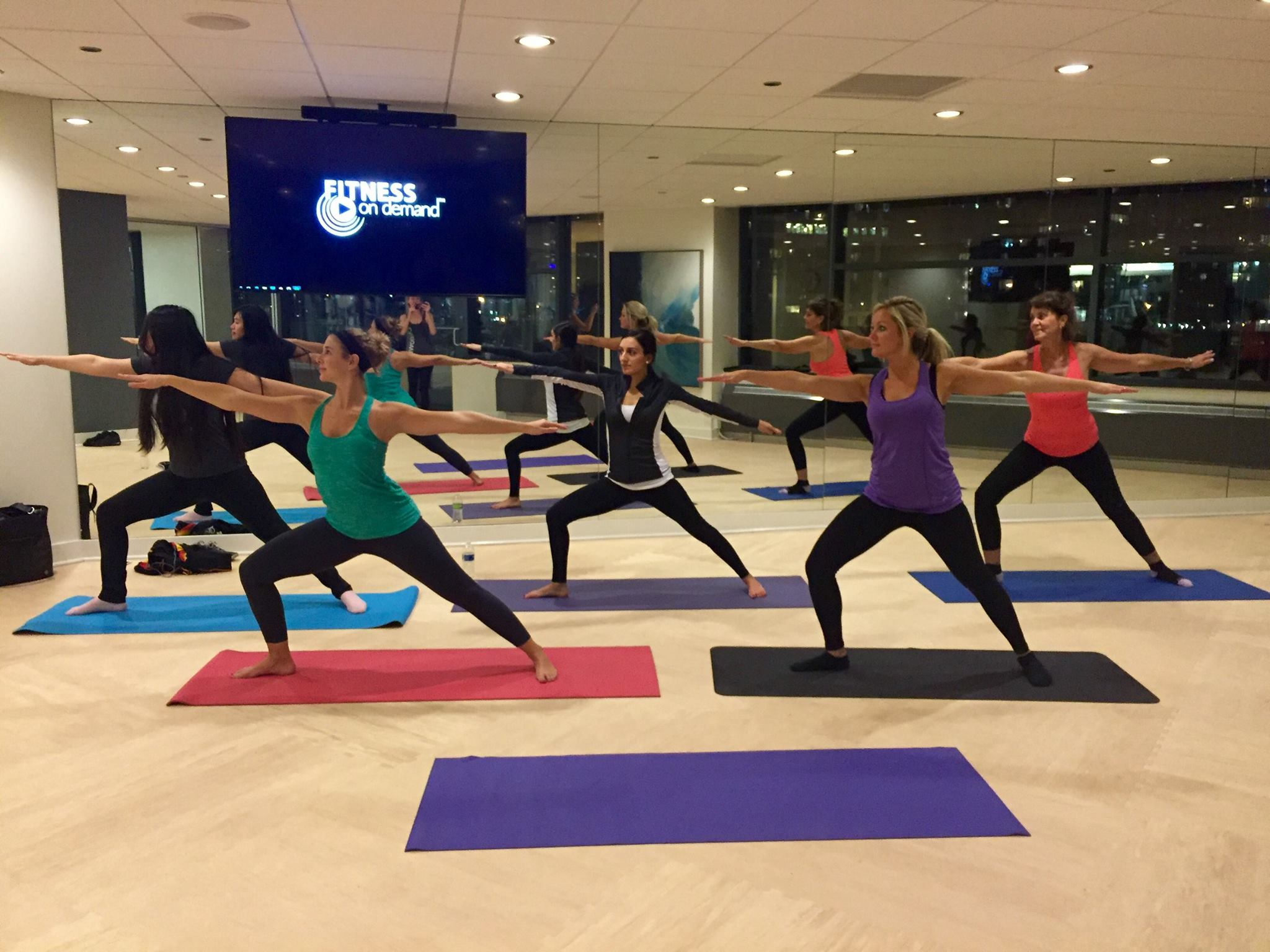 Downtown Chicago Apartment Yoga Class Chicago In Home Personal